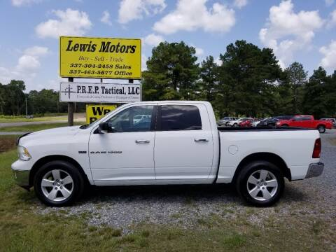 2011 RAM Ram Pickup 1500 for sale at Lewis Motors LLC in Deridder LA