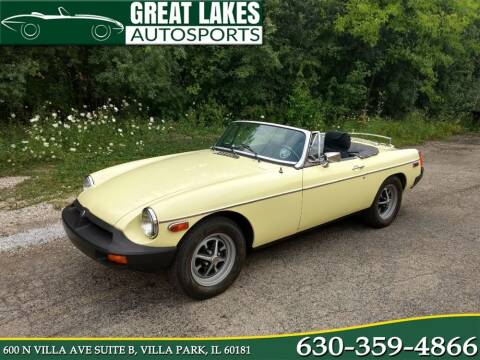 1977 MG B Roadster for sale at Great Lakes AutoSports in Villa Park IL