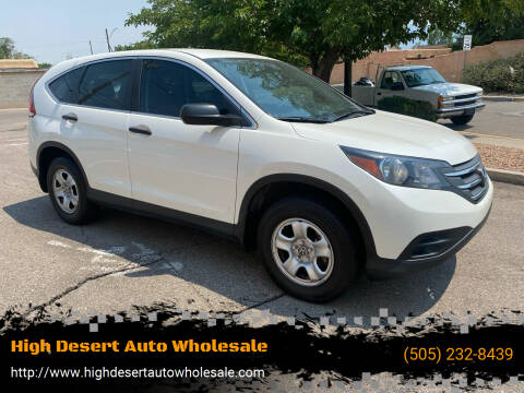 2014 Honda CR-V for sale at High Desert Auto Wholesale in Albuquerque NM