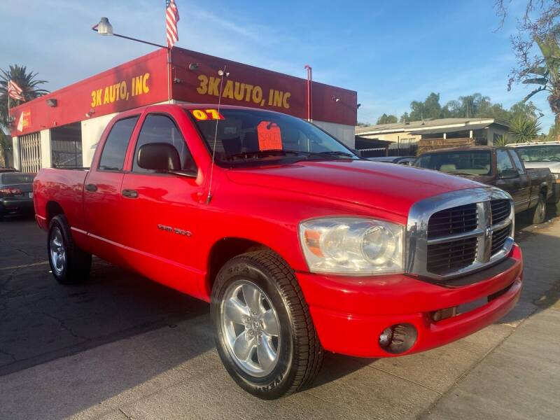 2007 Dodge Ram Pickup 1500 for sale at 3K Auto in Escondido CA