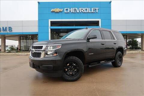2019 Chevrolet Tahoe for sale at Lipscomb Auto Center in Bowie TX