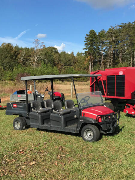 2016 Toro GTX WORKMAN, 4 PERSON CART for sale at Mathews Turf Equipment in Hickory NC