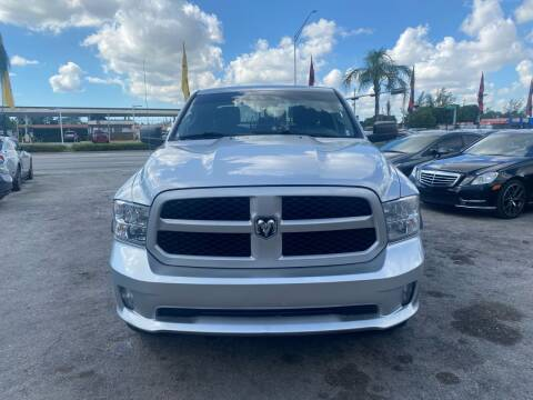 2013 RAM Ram Pickup 1500 for sale at America Auto Wholesale Inc in Miami FL