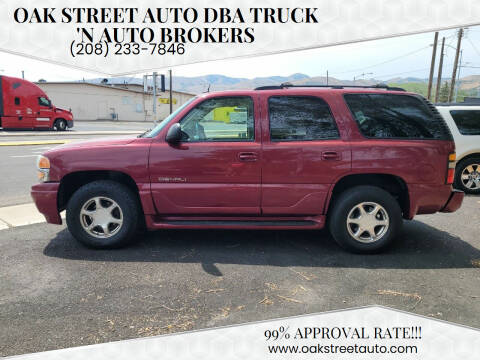 2005 GMC Yukon for sale at Oak Street Auto DBA Truck 'N Auto Brokers in Pocatello ID