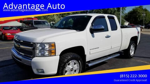 2010 Chevrolet Silverado 1500 for sale at Advantage Auto Sales & Imports Inc in Loves Park IL