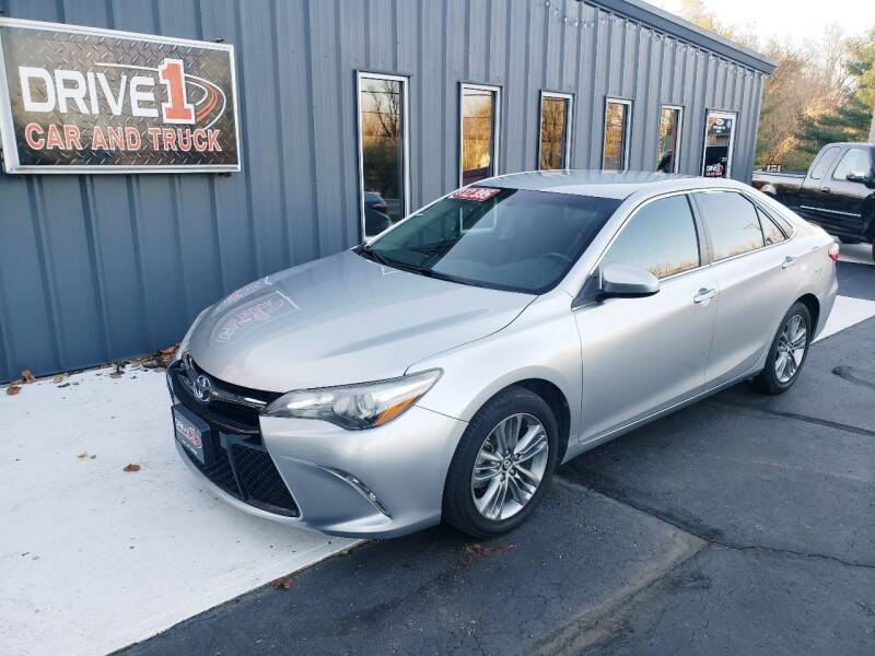 2015 Toyota Camry for sale at Drive 1 Car & Truck in Springfield OH