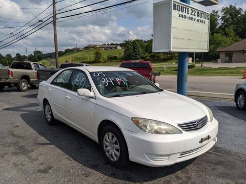 2005 Toyota Camry for sale at Route 22 Autos in Zanesville OH