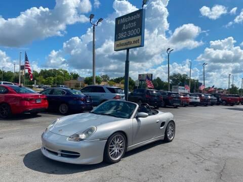 2000 Porsche Boxster for sale at Michaels Autos in Orlando FL