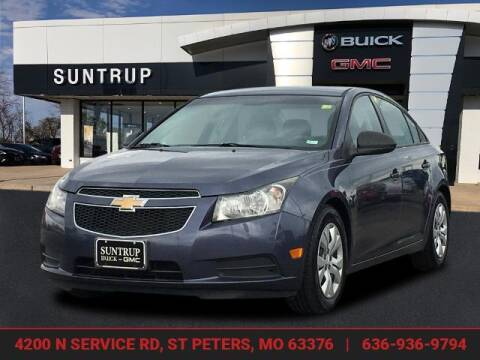 2013 Chevrolet Cruze for sale at SUNTRUP BUICK GMC in Saint Peters MO
