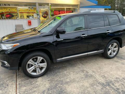 2011 Toyota Highlander for sale at TOP OF THE LINE AUTO SALES in Fayetteville NC