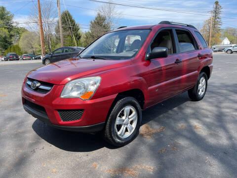 2009 Kia Sportage for sale at Delafield Motors in Glenville NY