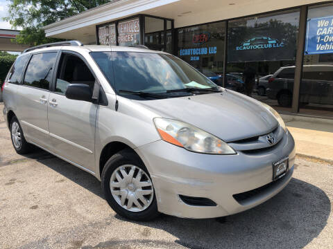 2008 Toyota Sienna for sale at ECAUTOCLUB LLC in Kent OH