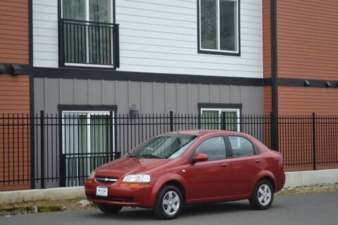 2005 Chevrolet Aveo for sale at Skyline Motors Auto Sales in Tacoma WA