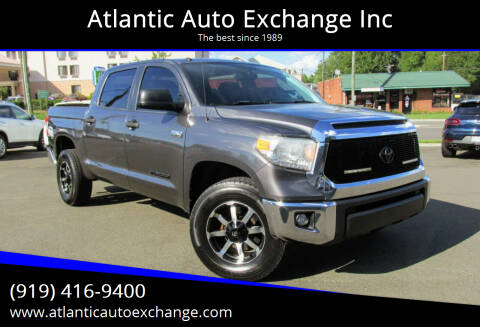 2015 Toyota Tundra for sale at Atlantic Auto Exchange Inc in Durham NC