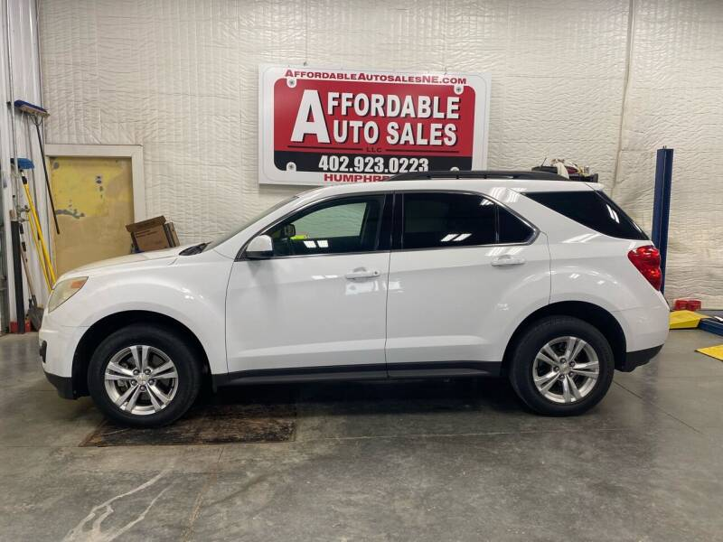 2011 Chevrolet Equinox for sale at Affordable Auto Sales in Humphrey NE