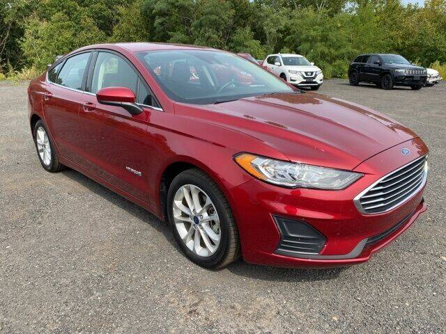 2019 Ford Fusion Hybrid for sale in Waterbury, CT