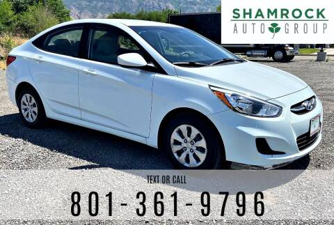 2016 Hyundai Accent for sale at Shamrock Group LLC #1 in Pleasant Grove UT