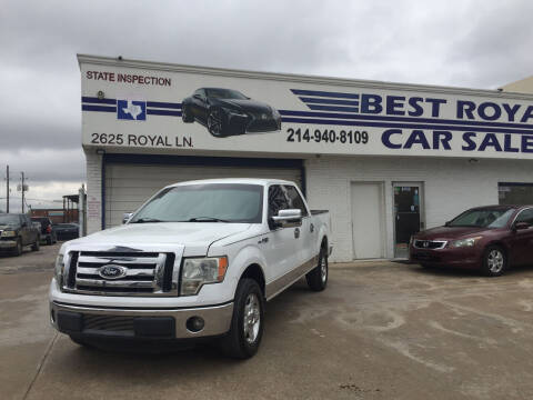 2011 Ford F-150 for sale at Best Royal Car Sales in Dallas TX