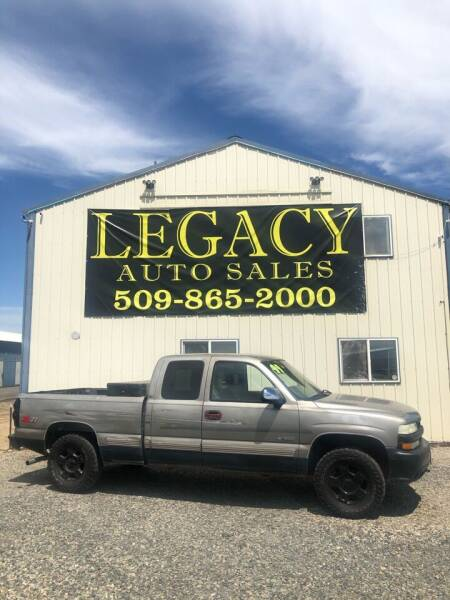 1999 Chevrolet Silverado 1500 for sale at Legacy Auto Sales in Toppenish WA