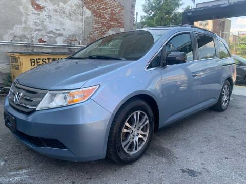 2012 Honda Odyssey for sale at Gallery Auto Sales in Bronx NY