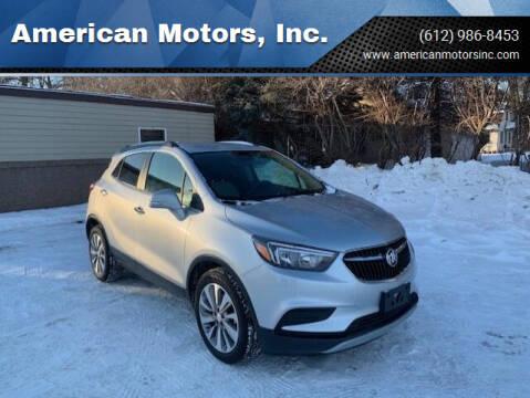 2018 Buick Encore for sale at American Motors, Inc. in Farmington MN