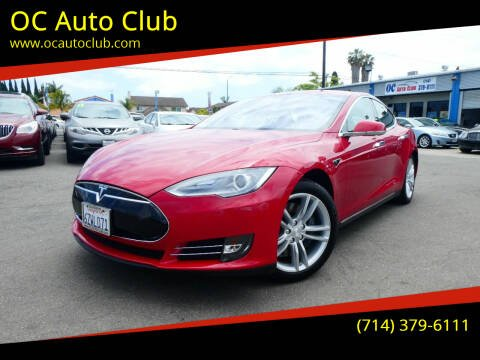 2013 Tesla Model S for sale at OC Auto Club in Midway City CA