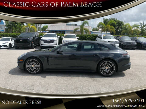 2018 Porsche Panamera for sale at Classic Cars of Palm Beach in Jupiter FL