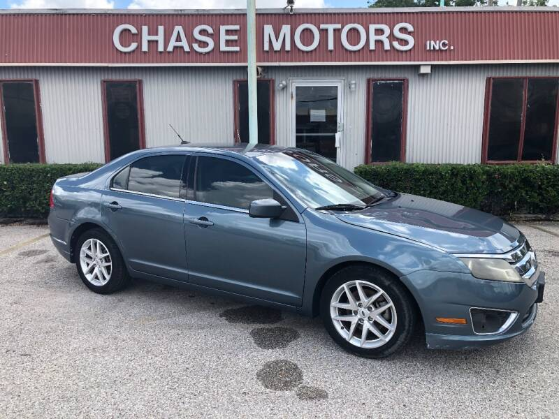 2012 Ford Fusion for sale at Chase Motors Inc in Stafford TX
