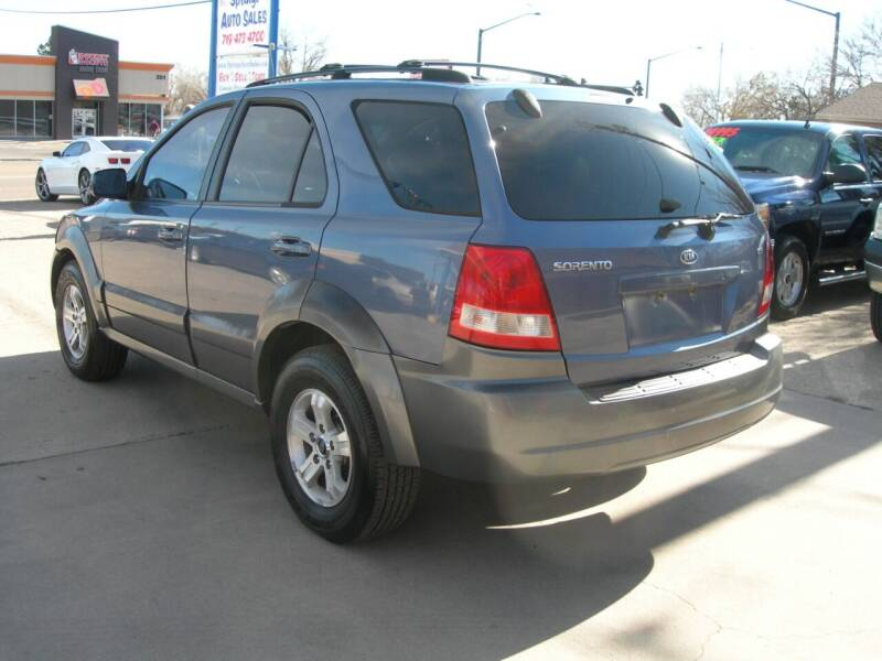 2004 Kia Sorento EX 4WD 4dr SUV - Colorado Springs CO
