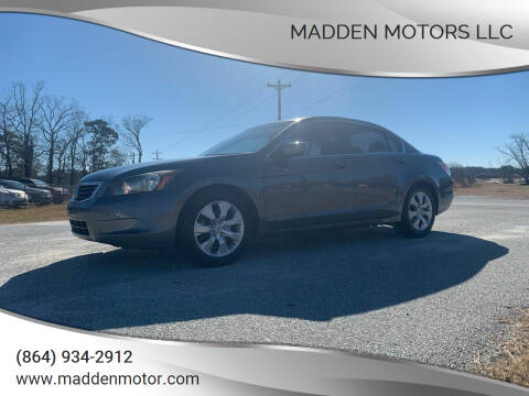 2010 Honda Accord for sale at Madden Motors LLC in Iva SC