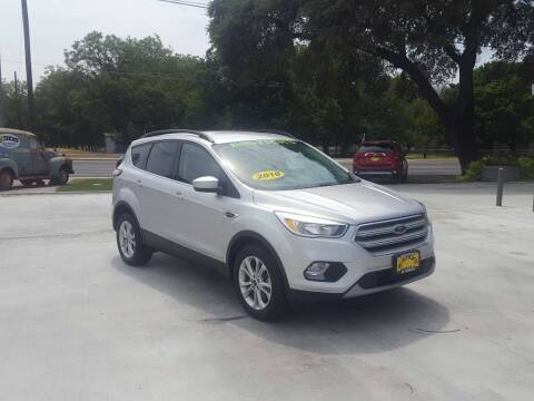2018 Ford Escape for sale at Bostick's Auto & Truck Sales in Brownwood TX