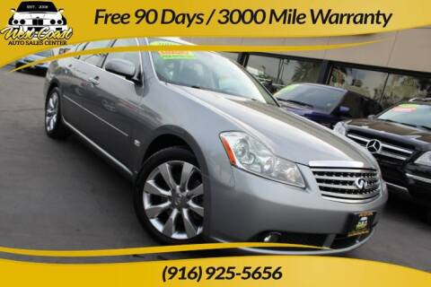2007 Infiniti M35 for sale at West Coast Auto Sales Center in Sacramento CA