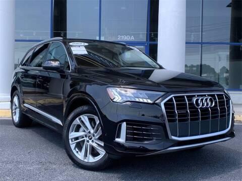 2021 Audi Q7 for sale at Capital Cadillac of Atlanta in Smyrna GA