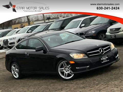 2014 Mercedes-Benz C-Class for sale at Star Motor Sales in Downers Grove IL