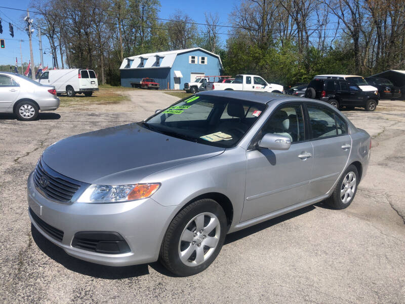 2010 Kia Optima for sale at BELL AUTO & TRUCK SALES in Fort Wayne IN