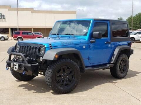2016 Jeep Wrangler for sale at Tyler Car  & Truck Center in Tyler TX