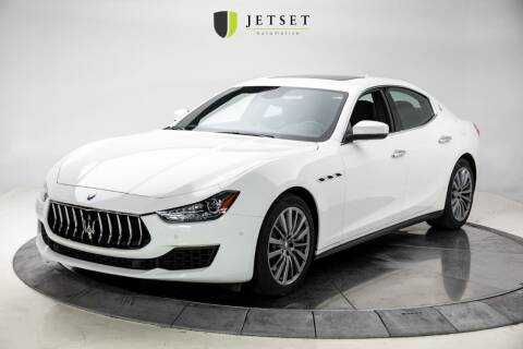 2018 Maserati Ghibli for sale at Jetset Automotive in Cedar Rapids IA