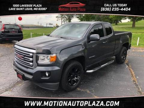 2016 GMC Canyon for sale at Motion Auto Plaza in Lakeside MO