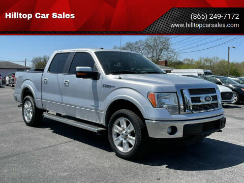 2012 Ford F-150 for sale at Hilltop Car Sales in Knox TN