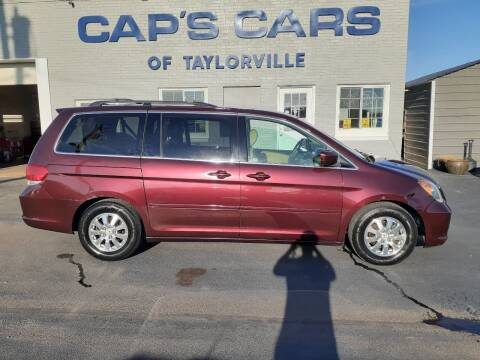 2008 Honda Odyssey for sale at Caps Cars Of Taylorville in Taylorville IL
