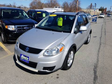 2007 Suzuki SX4 Crossover for sale at Howe's Auto Sales in Lowell MA