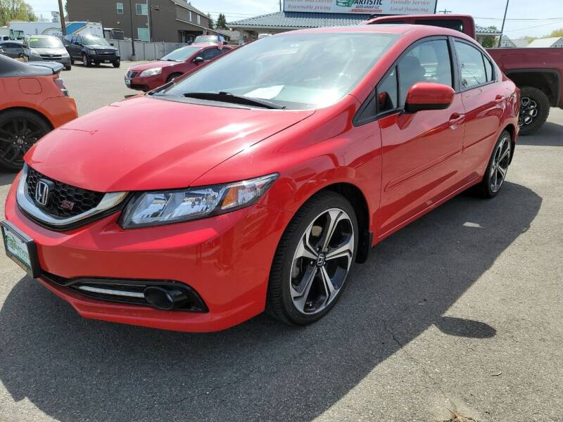 2014 Honda Civic for sale at Artistic Auto Group, LLC in Kennewick WA