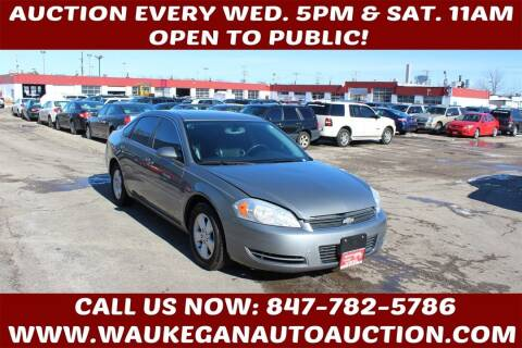 2007 Chevrolet Impala for sale at Waukegan Auto Auction in Waukegan IL