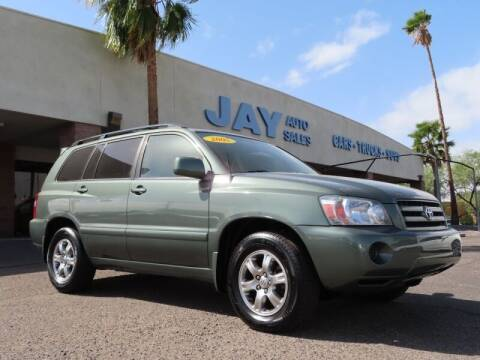 2005 Toyota Highlander for sale at Jay Auto Sales in Tucson AZ