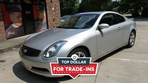 2006 Infiniti G35 for sale at NORCROSS MOTORSPORTS in Norcross GA