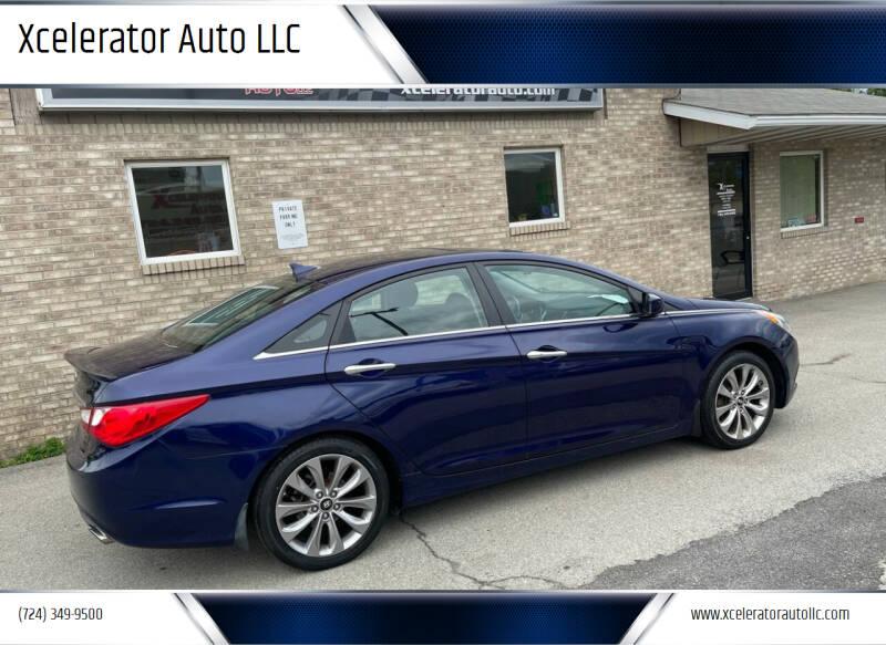 2011 Hyundai Sonata for sale at Xcelerator Auto LLC in Indiana PA