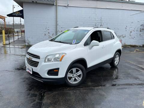 2016 Chevrolet Trax for sale at Santa Motors Inc in Rochester NY