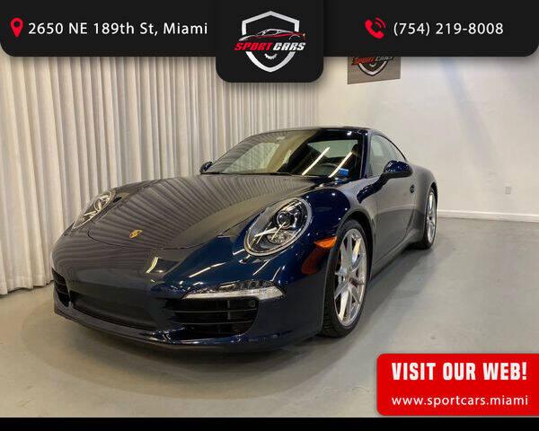 2012 Porsche 911 for sale in Miami, FL