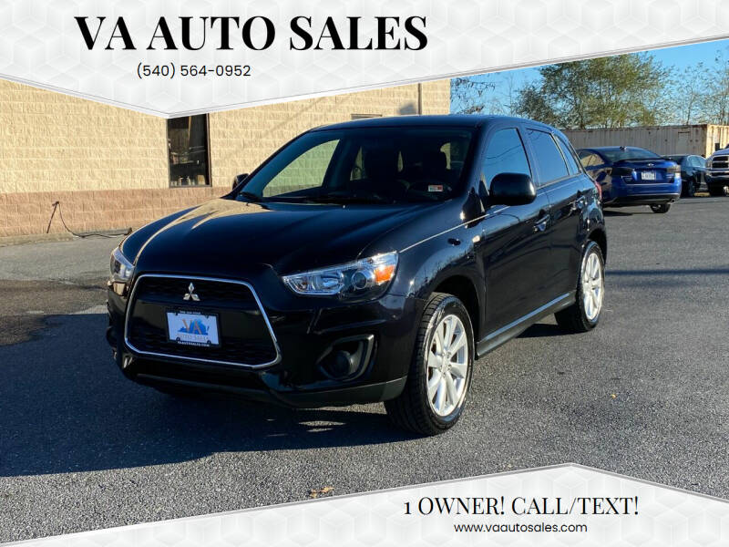 2015 Mitsubishi Outlander Sport for sale at Va Auto Sales in Harrisonburg VA