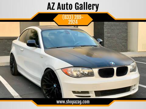 2011 BMW 1 Series for sale at AZ Auto Gallery in Mesa AZ